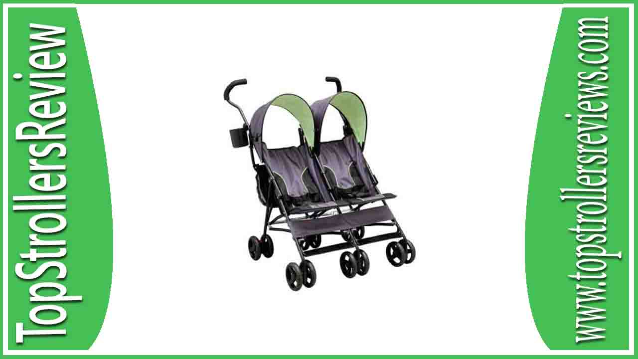 Delta Children LX Side by Side Tandem Umbrella Stroller Review
